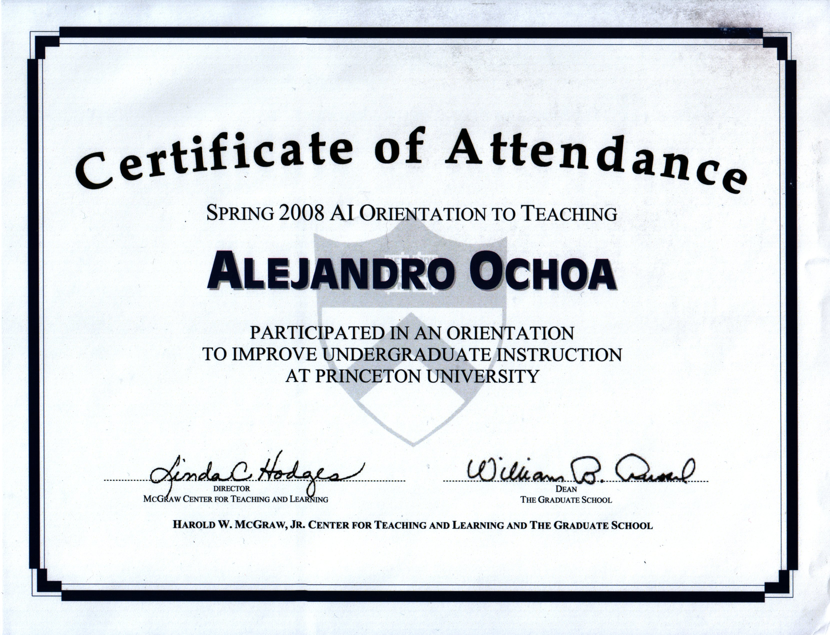 Conference certificate of attendance template gallery templates cvrricvlvm vitae certificate of attendance alramifo gallery 1betcityfo Gallery